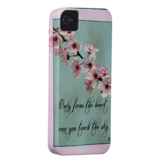 Only From the Heart Floral Case-Mate iPhone 4 Cases