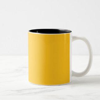 Only gold stylish solid OSCB28 customizable mugs