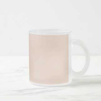 Only gorgeous dusty rose solid OSCB07 background Frosted Glass Mug