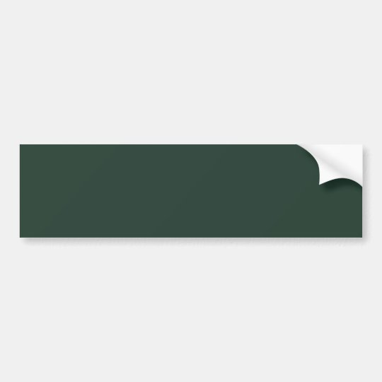 Only green forest vintage solid colour OSCB29 Bumper Sticker