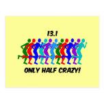 only half crazy