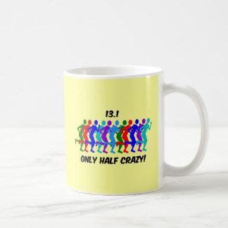 only half crazy coffee mug