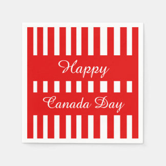 Only Happiness Canada Day Party Paper Napkins