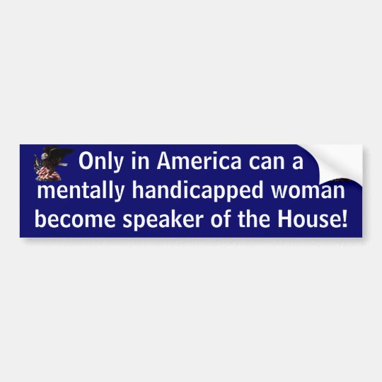 Only in America Bumper Sticker
