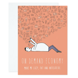 Only in Silicon Valley Greeting Card: On Demand 13 Cm X 18 Cm Invitation Card