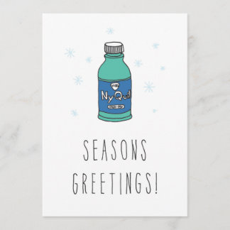 Only in Silicon Valley Greeting: Seasons Greetings Christmas Card