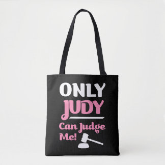 Only Judy Can Judge Me funny bag