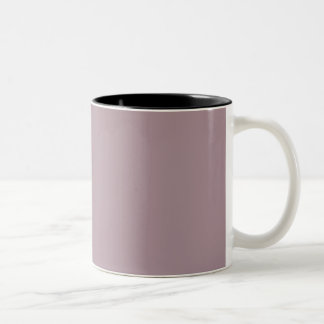 Only Lavender dusty solid color customizable mugs