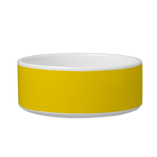 Only lemon yellow pretty solid colour OSCB09 Bowl