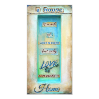 Only Love Can Make A Home Photo Print
