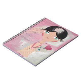 Only love matters spiral note books