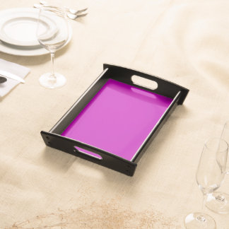 Only magenta pink cool solid color background serving trays