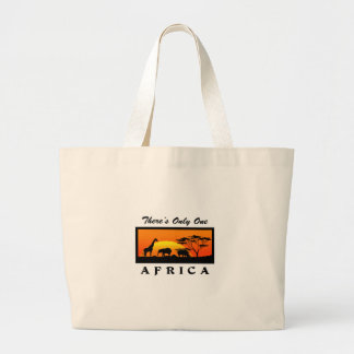 ONLY ONE AFRICA JUMBO TOTE BAG