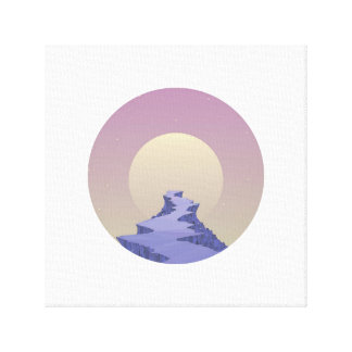 Only path canvas print