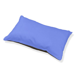 Only Periwinkle blue solid color Small Dog Bed