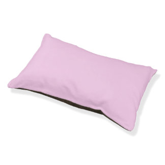 Only Pink solid color Small Dog Bed