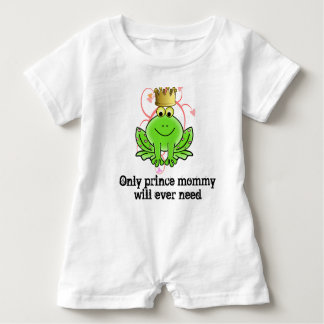 Only Prince Mommy Will Ever Need baby romper Baby Bodysuit