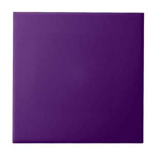 Only purple deep cool solid color background small square tile