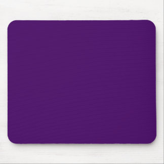 Only purple deep cool solid OSCB15 background Mouse Pad