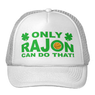 Only Rajon can do that Cap