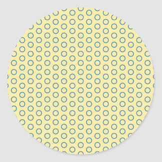only scores small scores scores much dots circles round sticker
