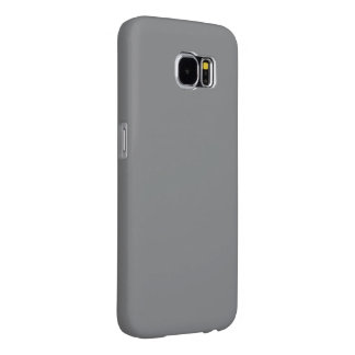 Only simple gray solid color Samsung6 Samsung Galaxy S6 Cases