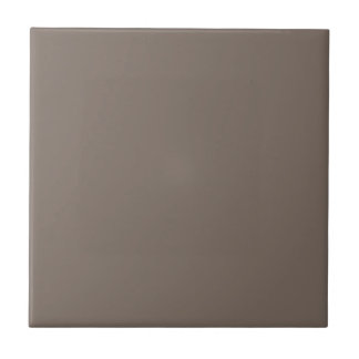Only Taupe gorgeous solid color background Small Square Tile