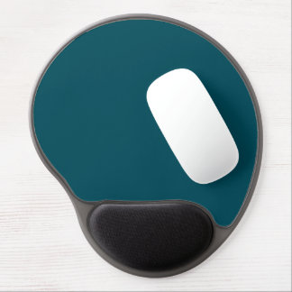 Only teal solid color gel mouse pad