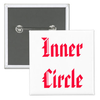 Only The FAMILY are Inner Circle 15 Cm Square Badge