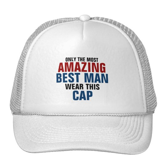 Only the most amazing best man wear this