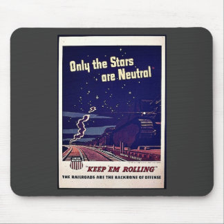 Only The Stars Are Neutral Mouse Pads
