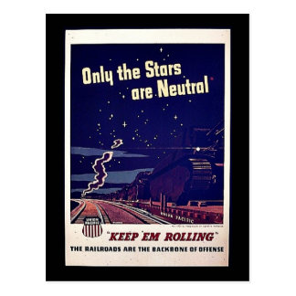 Only The Stars Are Neutral Postcards