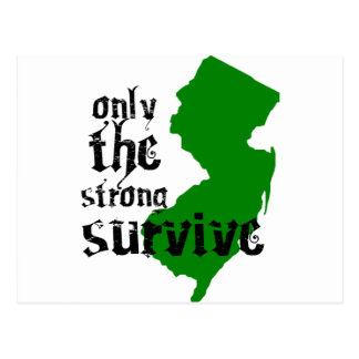Only The Strong Survive Postcards