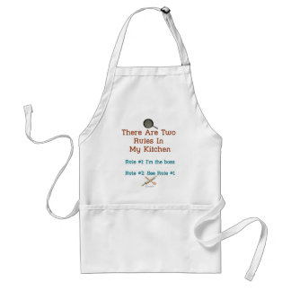 Only Two Rules Standard Apron