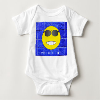 Only with you baby bodysuit