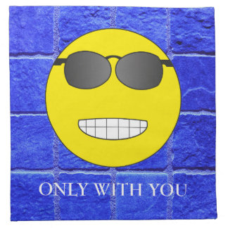 Only with you napkin