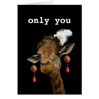 Only you! card