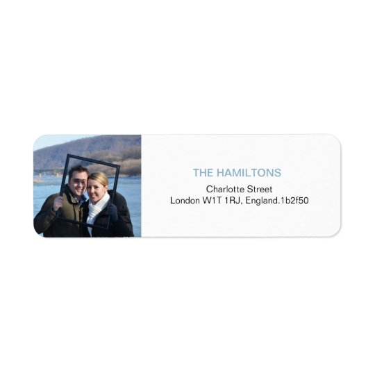 Only You | Modern Photo Return Address Labels