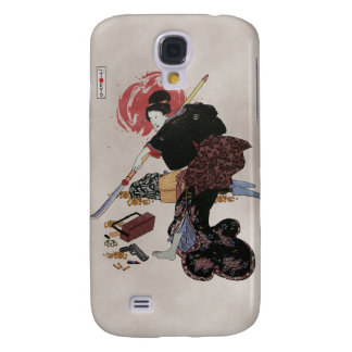 Onna-Bugeisha Ishi-jo Galaxy S4 Cases