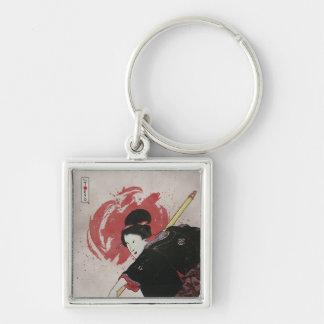 Onna-Bugeisha Ishi-jo Key Chain