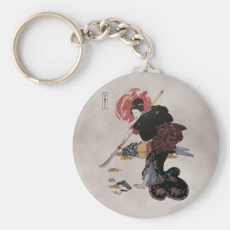 Onna-Bugeisha Ishi-jo Keychains