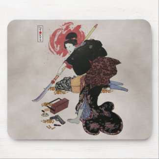 Onna-Bugeisha Ishi-jo Mousepads