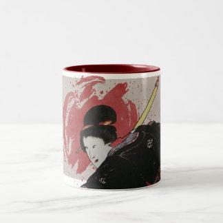 Onna-Bugeisha Ishi-jo Coffee Mugs