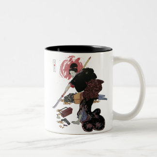 Onna-Bugeisha Ishi-jo Mugs