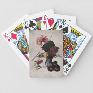 Onna-Bugeisha Ishi-jo Poker Cards