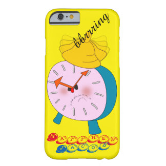 Onomatopoeia word bbrrring thinking alarm clock barely there iPhone 6 case
