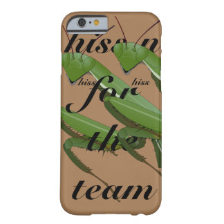 Onomatopoeia word hiss praying mantis barely there iPhone 6 case