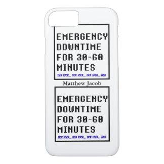 Onomatopoeia word tick tock thinking downtime iPhone 7 case
