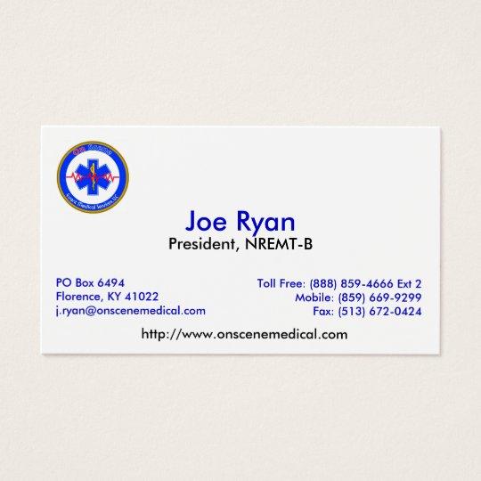 OnScene Card JR