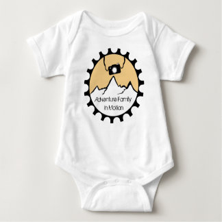 Onsie Adventure Family In Motion Baby Bodysuit